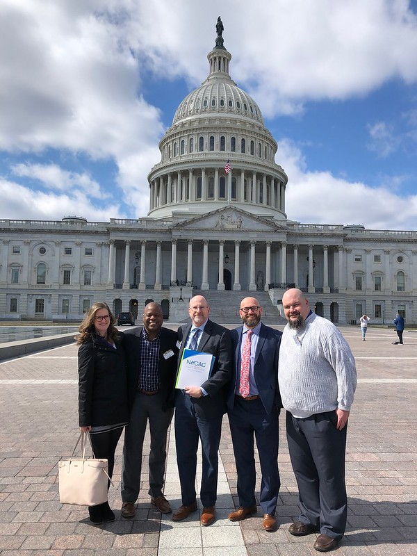 NACAC Volunteers visit Capitol Hill