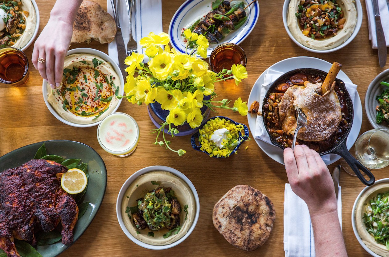 Saba Just A Few Blocks From Tulane Alon Shaya Has Opened His Brand New Restaurant And It Does Not Disoint Similar To Previous Restaurants